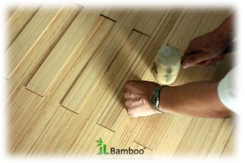 Pokládání bambusové podlahy